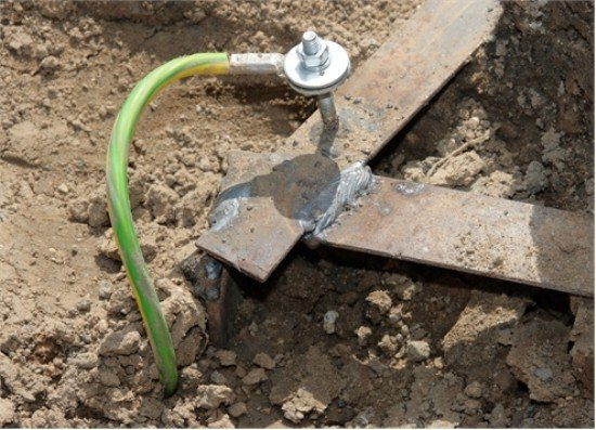 контур заземления дома присоединение провода
