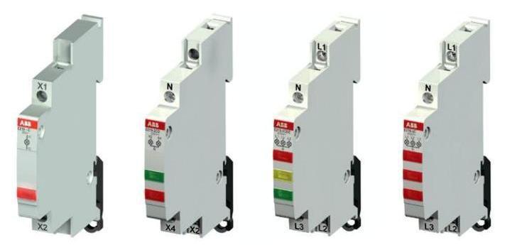 сборка электрощита световой индикатор