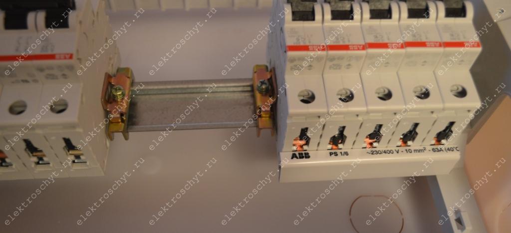 сборка электрощита ограничитель
