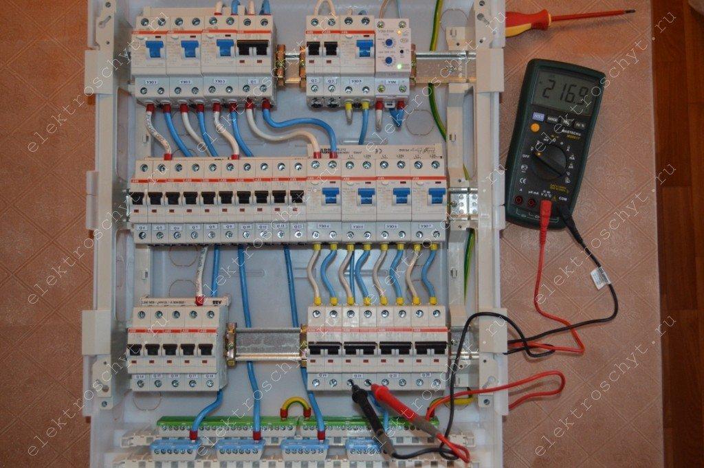Сборка электрощита для дома c40ad89aaffa7