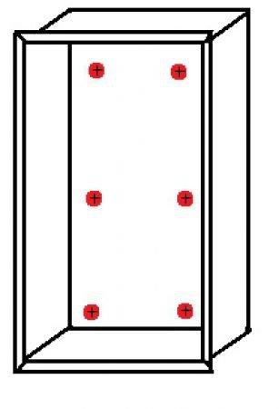 Щиток встраиваемый abb на 18 модулей
