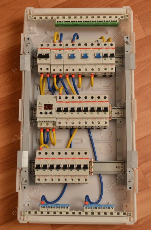 фото электрощита