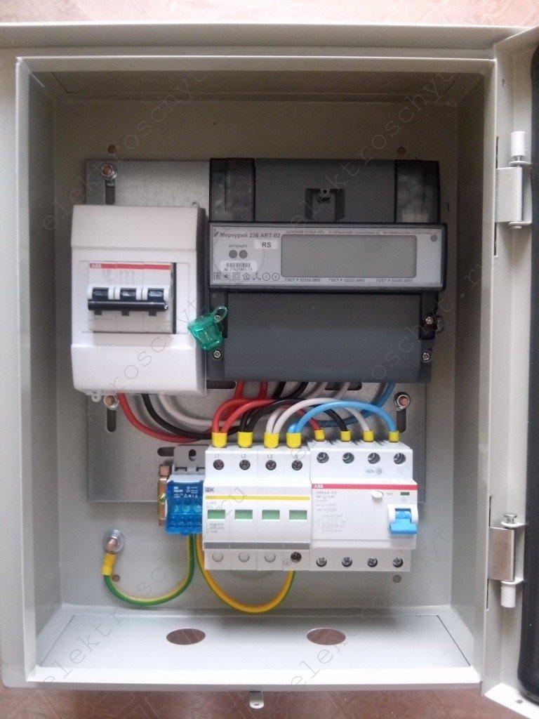 Сборка щита учета электроэнергии 220в своими руками фото 41