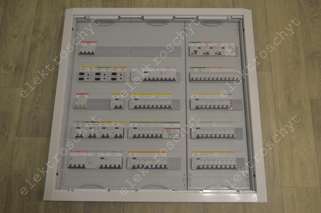Сборка щита Siemens