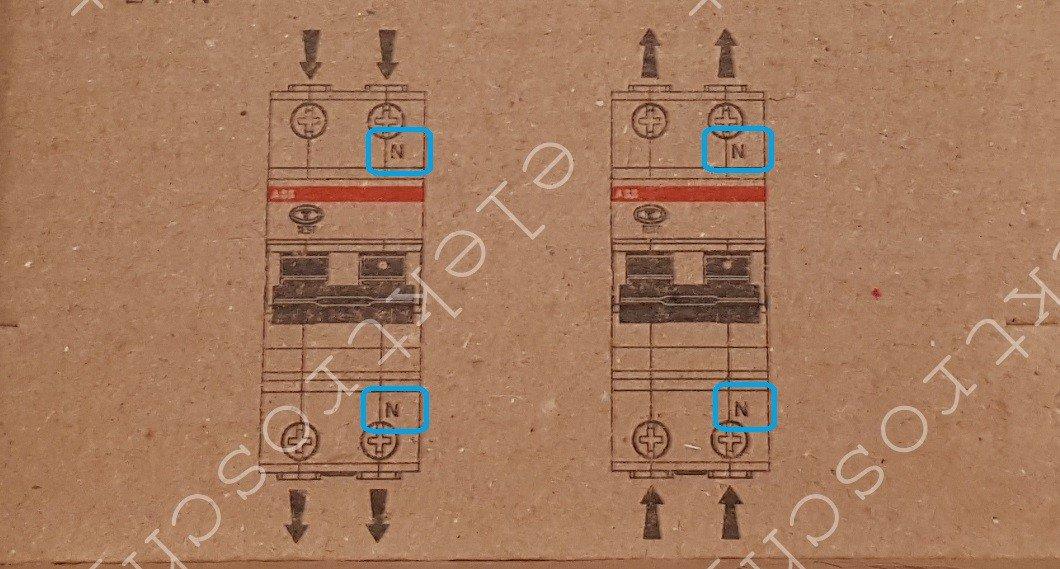 Схема дифавтомата